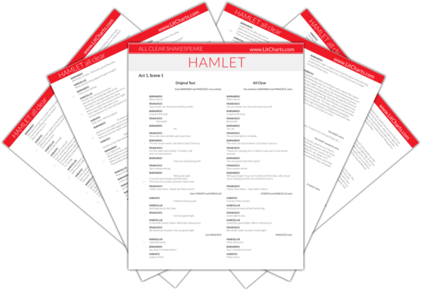 The LitCharts Shakespeare translation of Hamlet