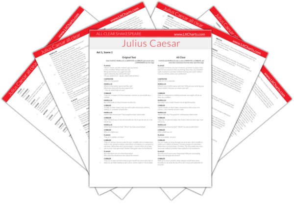 The LitCharts Shakespeare translation of Julius Caesar